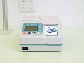 インフルエンザ迅速測定器